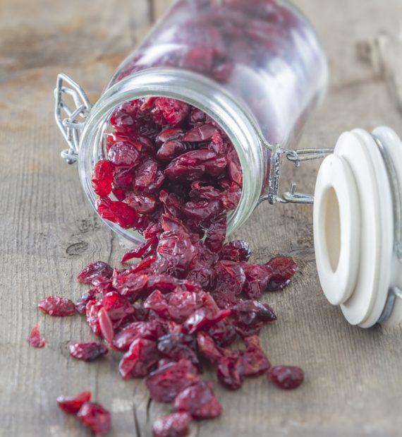 Cranberries χωρίς ζάχαρη