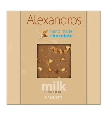 Σοκολάτα γάλακτος Φουντούκι