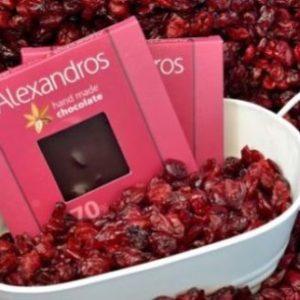 Σοκολάτα υγείας Cranberries