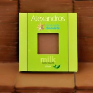 Σοκολάτα γάλακτος Στέβια
