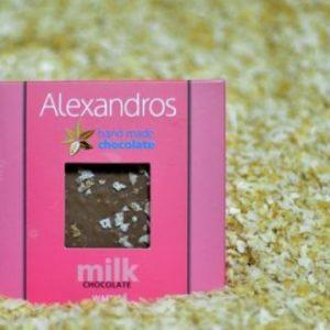 Σοκολάτα γάλακτος Βάφλα
