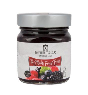 Μαρμελάδα Φρούτα του Δάσους χωρίς ζάχαρη