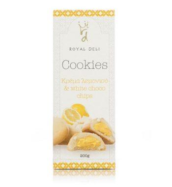 Cookies Λεμόνι & Λευκή Σοκολάτα