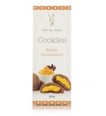Cookies Πορτοκάλι & Σοκολάτα
