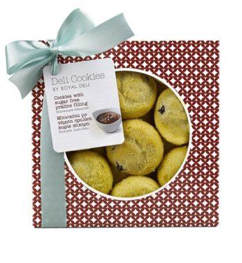 Cookies Πραλίνα Χωρίς Ζάχαρη
