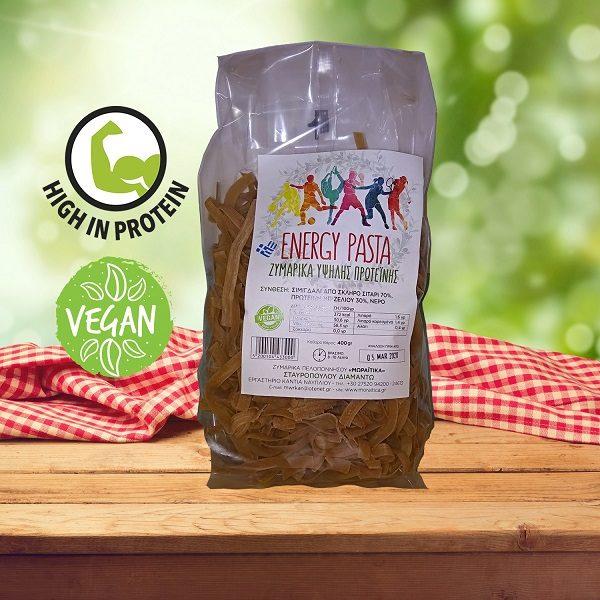 Vegan Ζυμαρικά Υψηλής Πρωτεΐνης