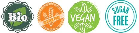bio vegan gluten free sugar free