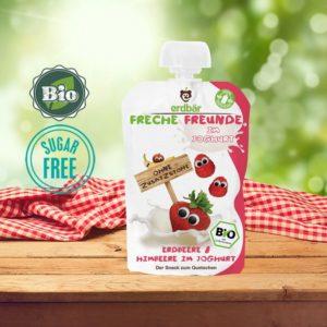 Πολτός Γιαούρτι Φράουλα Raspberry χωρίς ζάχαρη