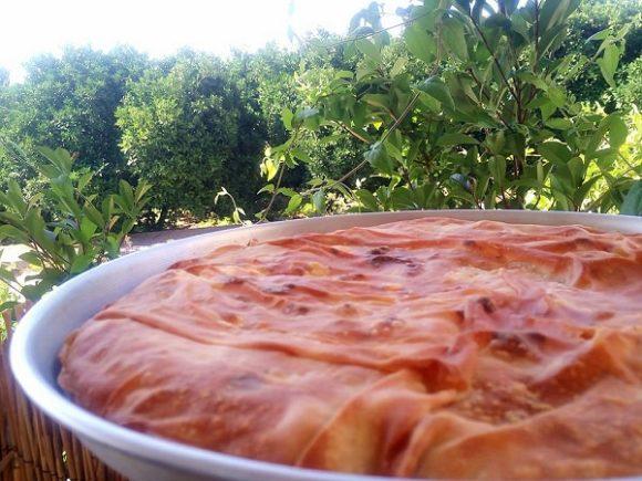 Ντοματόπιτα με Φέτα