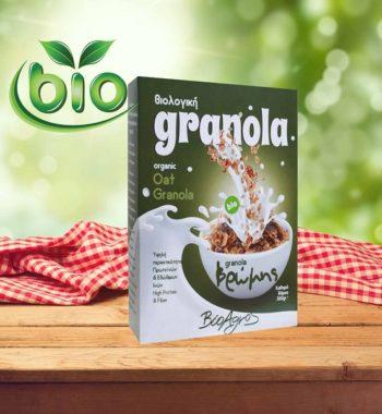 Βιολογική Granola μούσλι Βρώμης