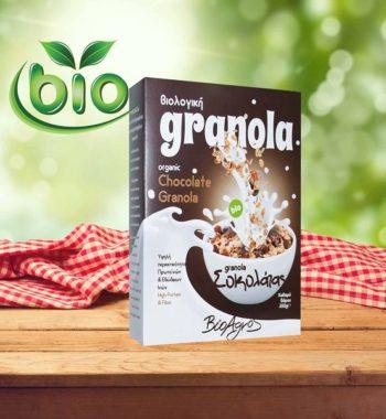 Βιολογική Granola με Σοκολάτα